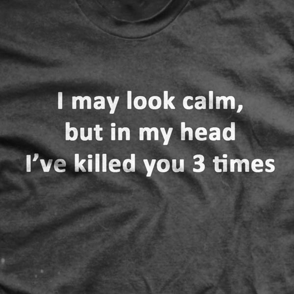 PREORDER I've Killed You Three Times Normal Fit T-Shirt