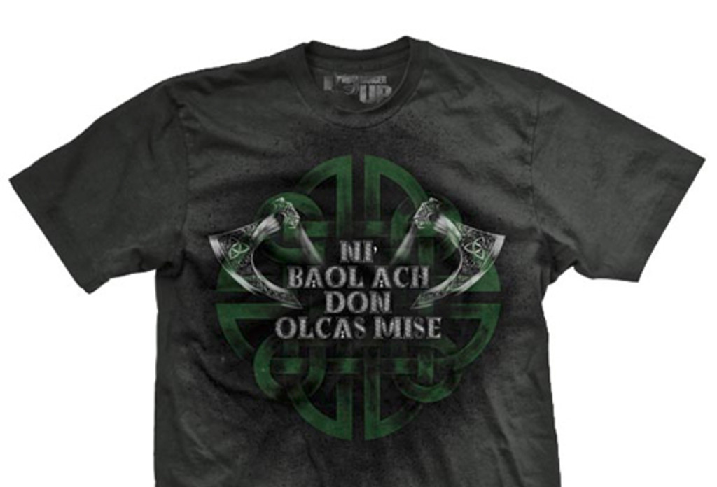 PREORDER Gaelic Only Evil Ultra-Thin Vintage T-Shirt