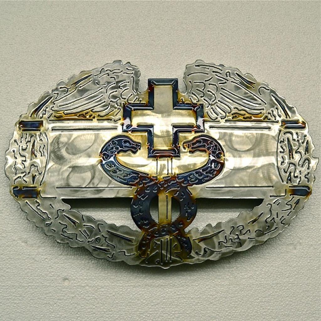 American Liquid Metal - Combat Medical Badge Sign