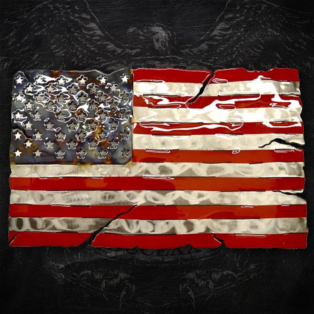 American Liquid Metal - Star Spangled Banner Sign
