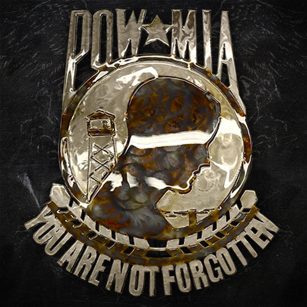American Liquid Metal - POW / MIA Sign