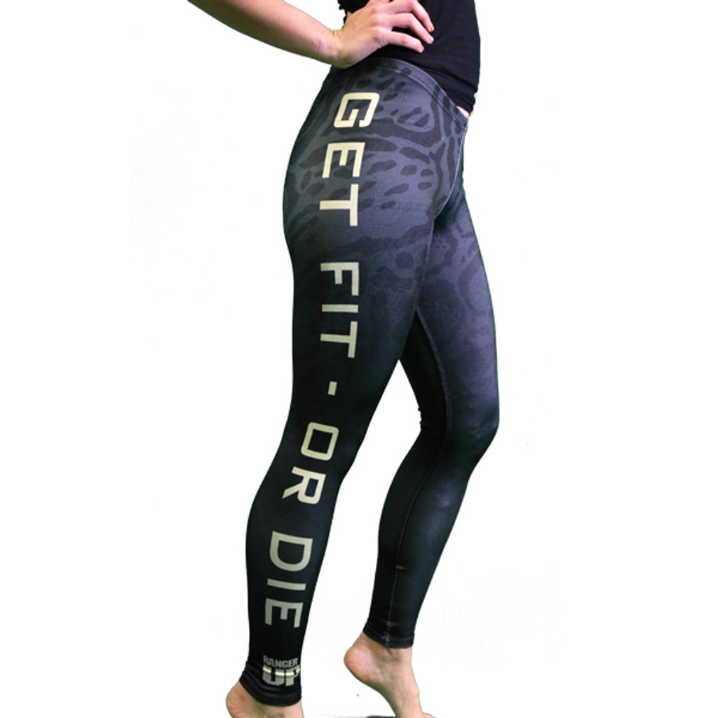 PREORDER Get Fit Or Die: WOMEN'S Leopard Leggings