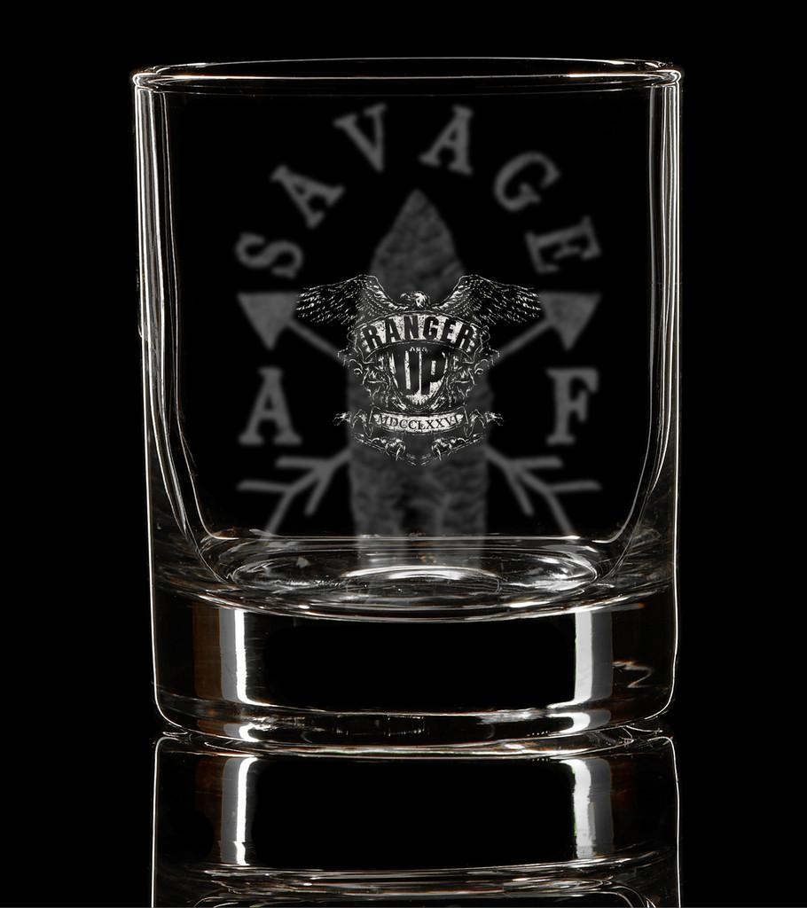 PREORDER Savage AF Whiskey Glass