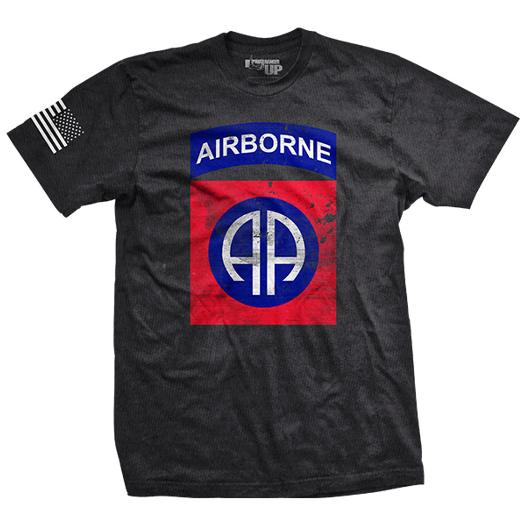 82nd Airborne Division Vintage-Fit T-Shirt
