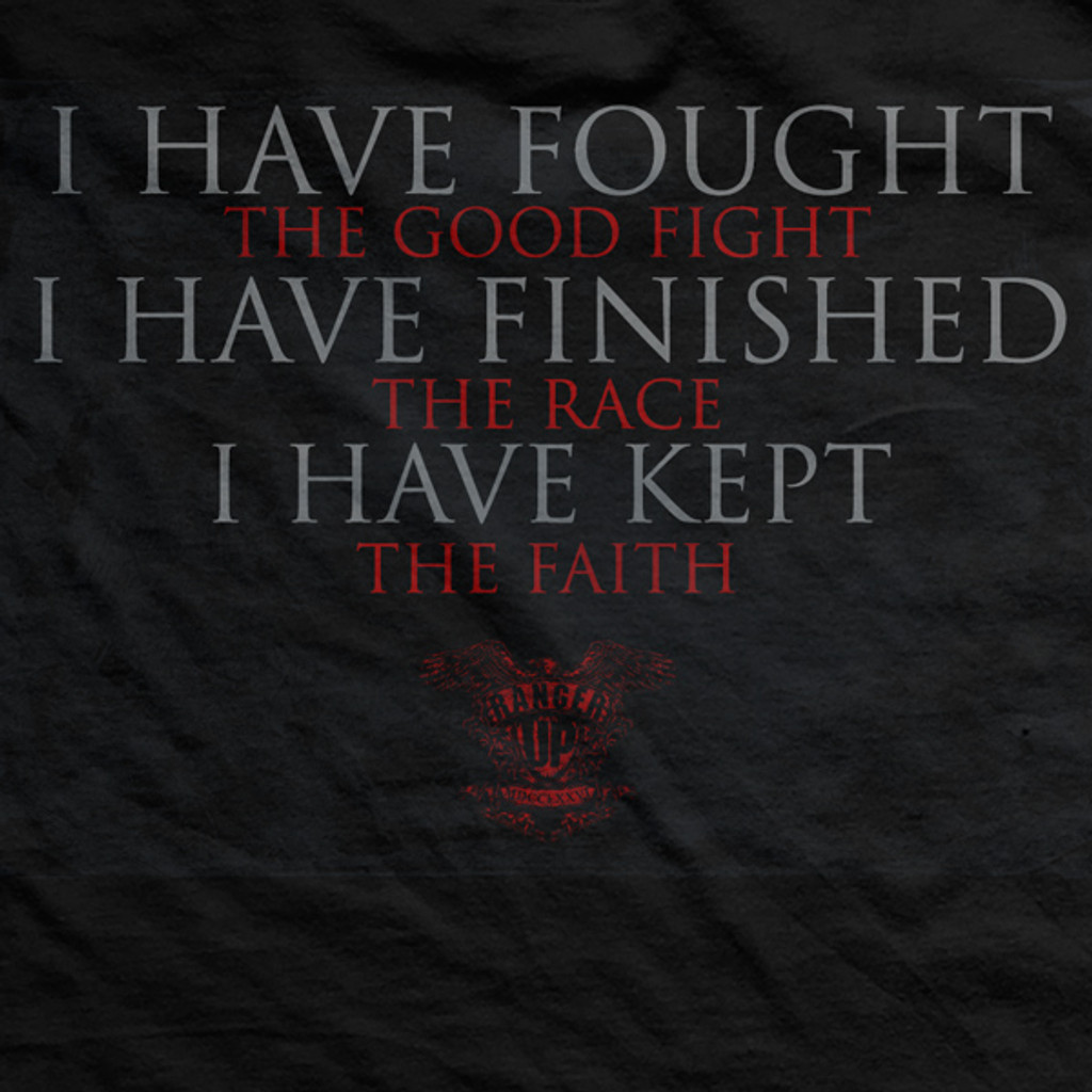 Fought The Good Fight Vintage-Fit T-Shirt