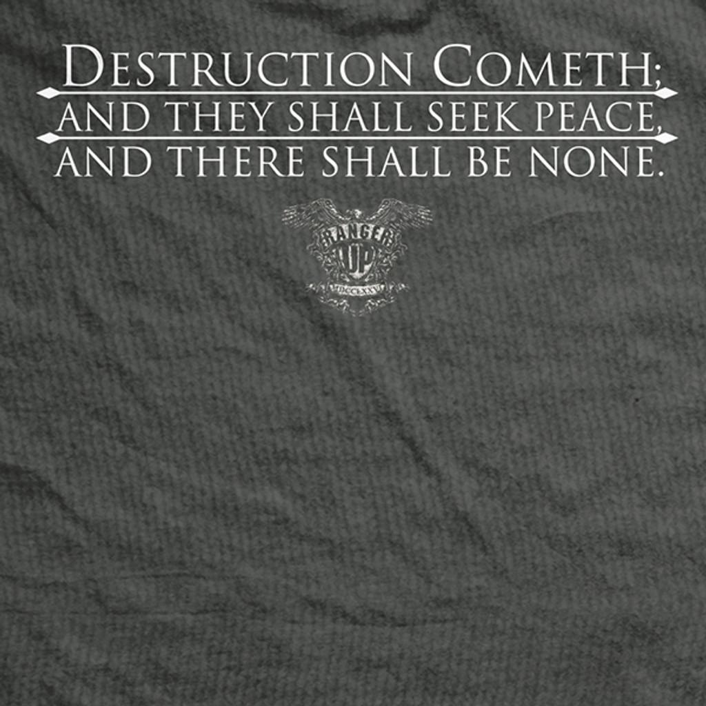 Destruction Cometh Vintage-Fit T-Shirt