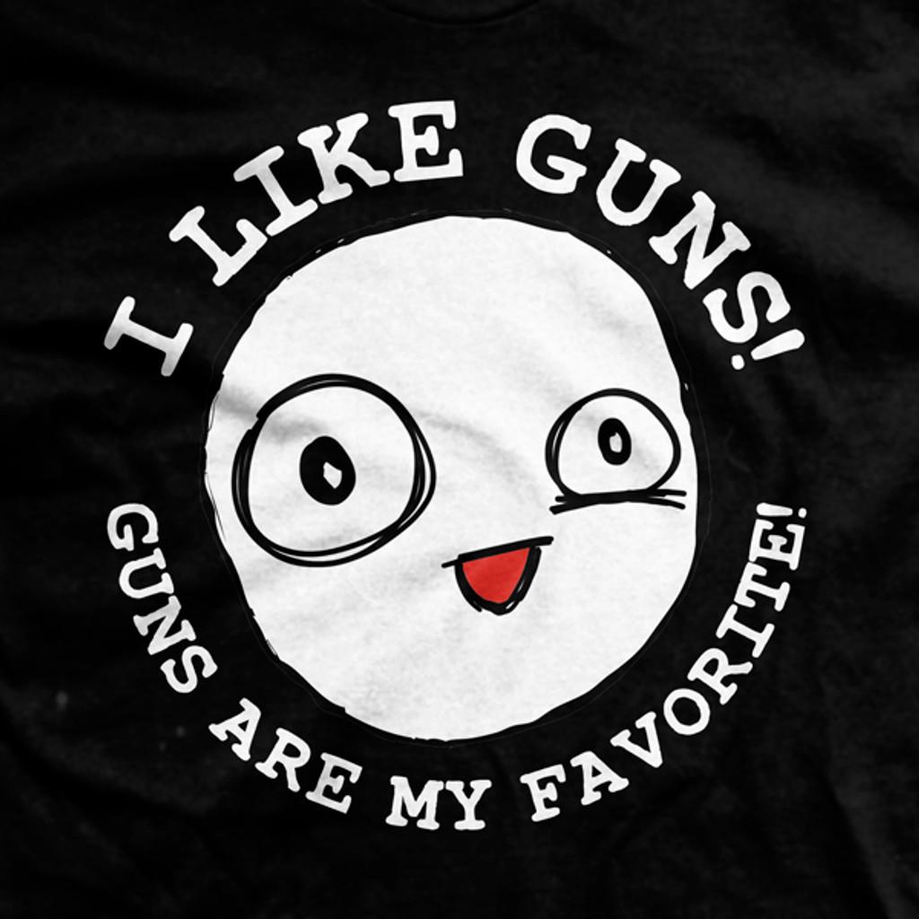PREORDER I Like Guns Ultra-Thin Vintage T-Shirt