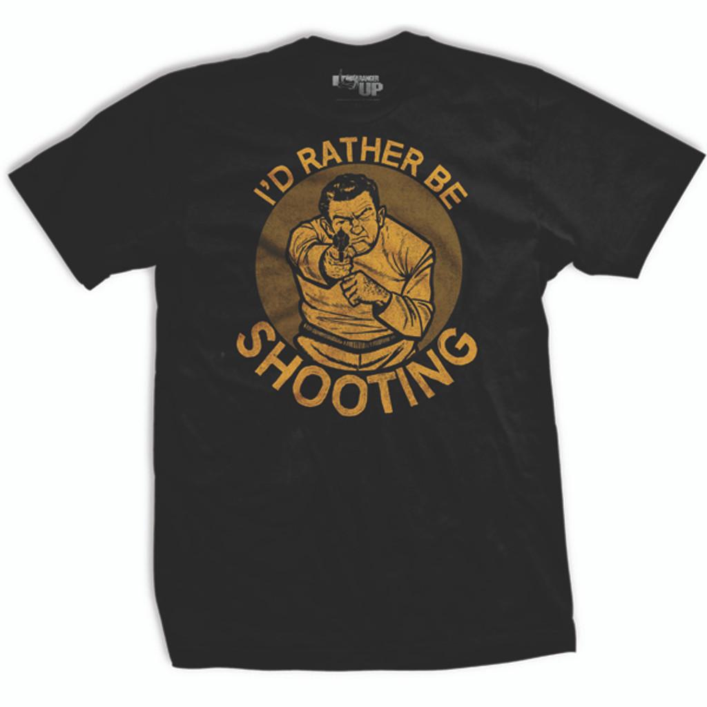 PREORDER I'd Rather Be Shooting Vintage T-shirt