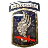 American Liquid Metal - 173rd Airborne Brigade Sign