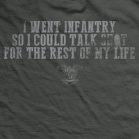 PREORDER Why I Joined the Infantry Normal-Fit T-Shirt