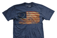 PREORDER Betsy Ross Glory Ultra-Thin Vintage T-shirt