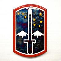 American Liquid Metal - 172nd Infantry Brigade Sign