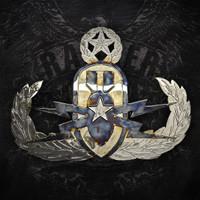 American Liquid Metal - EOD Master Wings Sign