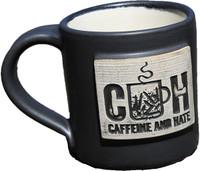 Caffeine and Hate Hand Made Mug