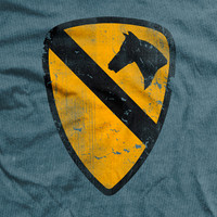 1st Cavalry Division Normal Fit T-Shirt