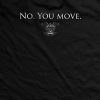 No. You Move Vintage-Fit T-Shirt