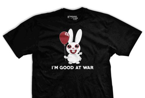 I Am Good At War Ultra-Thin Vintage T-Shirt