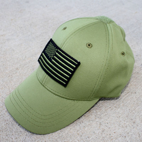 GREEN Micromesh Flag Hat