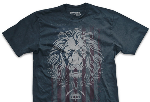 PREORDER Live As a Lion Ultra-Thin Vintage T-Shirt
