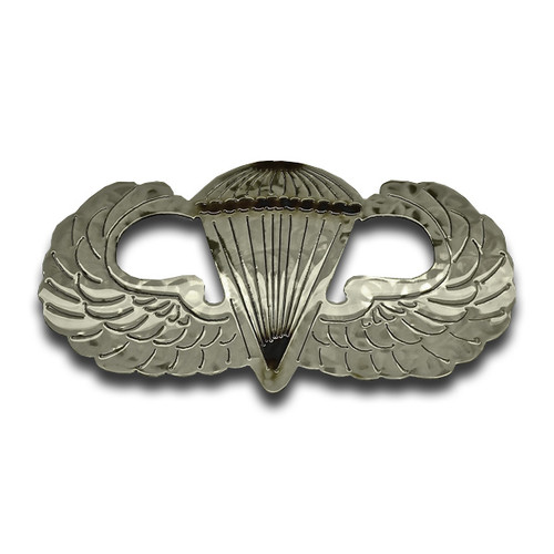 American Liquid Metal - Basic Parachutist Wings Sign