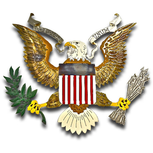 American Liquid Metal - Liberty Eagle Sign