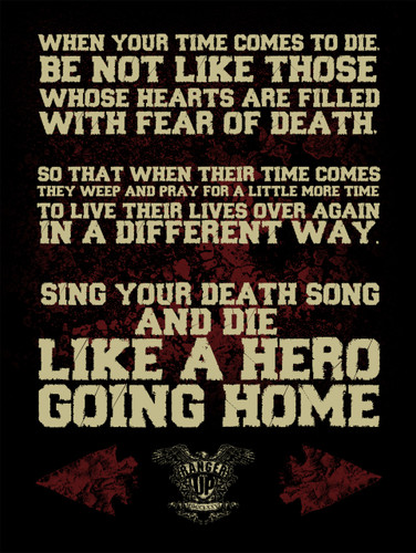 Sing Your Death Song Poster