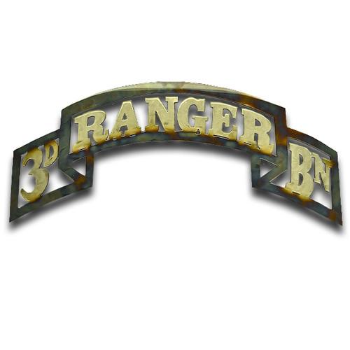 American Liquid Metal - 3/75th Ranger Battalion Scroll Sign