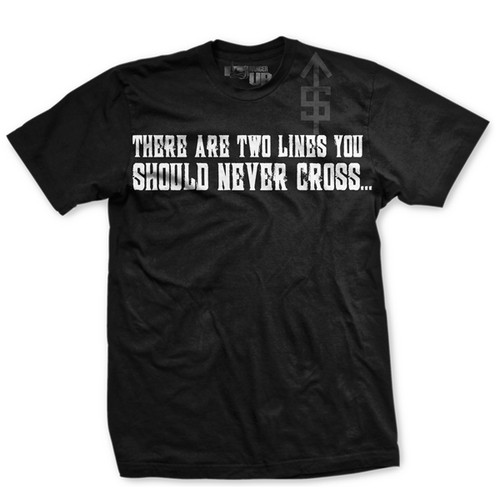 Two Lines You Never Cross Normal Fit T-Shirt