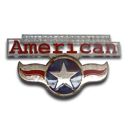 American Liquid Metal - Unapologetically American Sign