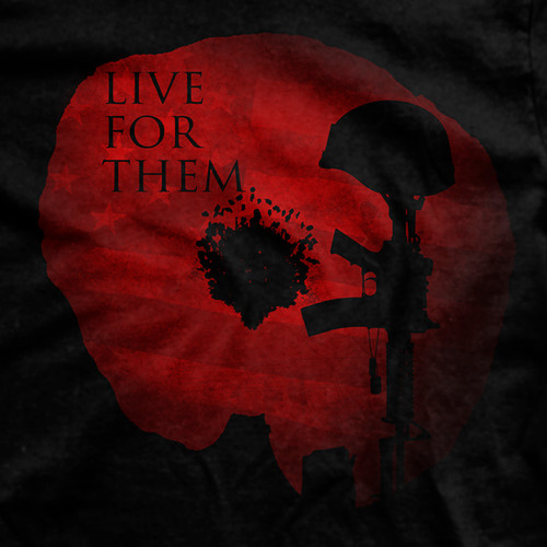 Live for Them Normal-Fit T-Shirt