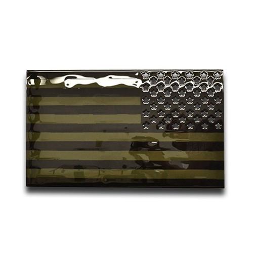 American Liquid Metal- Subdued American Flag