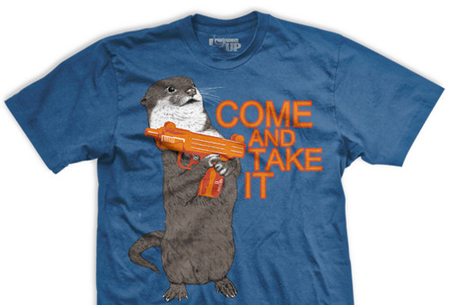 Come and Take It Otter Normal-Fit T-Shirt