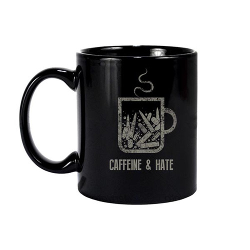 Caffeine and Hate: Bullets Caffeine and Hate Mug