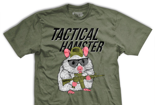 PREORDER Tactical Hamster Ultra-Thin Vintage T-Shirt