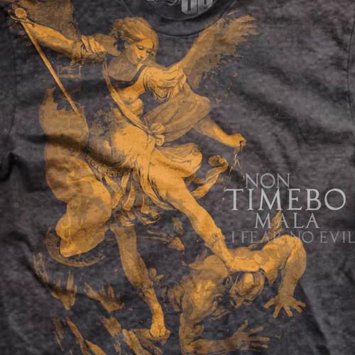 Saint Michael Ultra-Thin Vintage T-Shirt