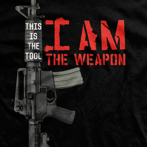 I Am The Weapon Normal-Fit T-Shirt