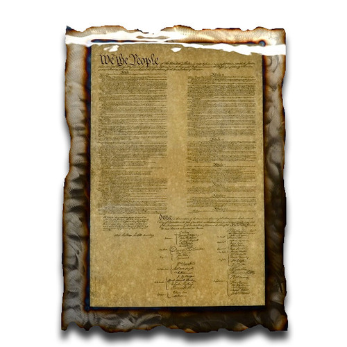 American Liquid Metal - Constitution Sign
