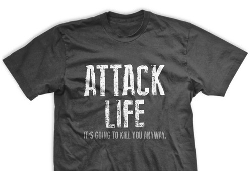 Attack Life Normal-Fit T-Shirt