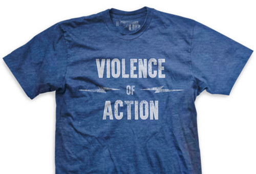 PREORDER Violence of Action Ultra-Thin Vintage T-Shirt