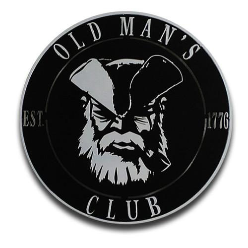 American Liquid Metal Old Man's Sign