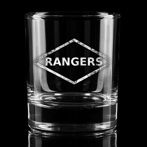 Ranger Diamond Whiskey Glass