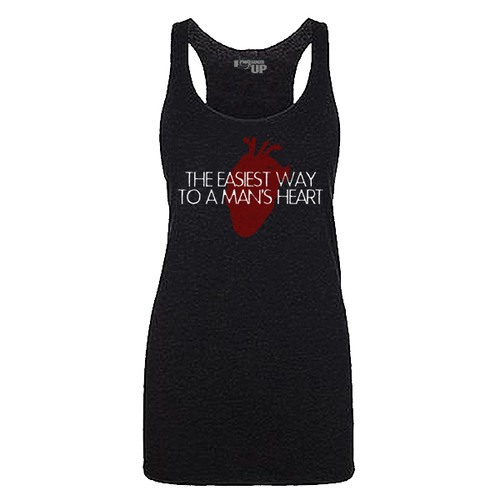 WOMEN'S Way To A Man's Heart Tank - Limited Edition