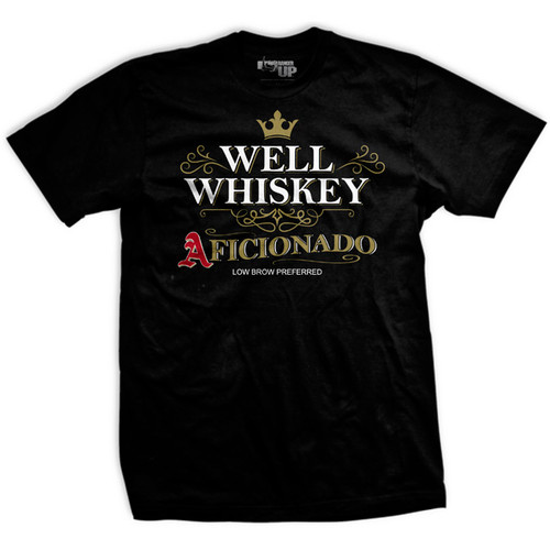 PREORDER Well Whiskey Aficionado Vintage-Fit T-Shirt