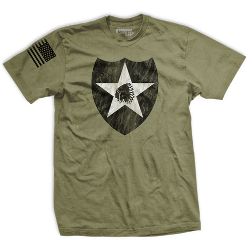 2nd Infantry Vintage-Fit T-Shirt