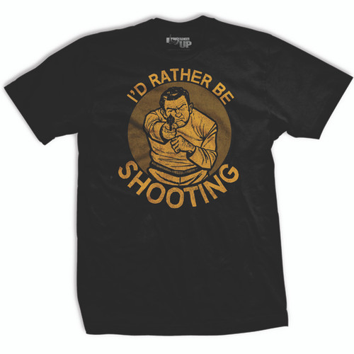 PREORDER I'd Rather Be Shooting Vintage T-shirt