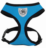 Blue Mesh Harness - SMALL