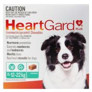 Heartgard Green For Medium Dogs 6 Chews