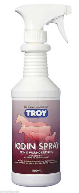 Troy Iodin skin and wound dressing