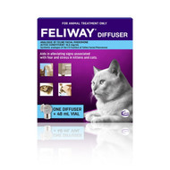 Feliway Diffuser  with 48mL Refill - Pheremone for Cat Anxiety - Genuine