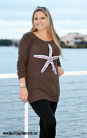 SUPER SAVINGS 60% OFF ! Starfish Sweater Dress